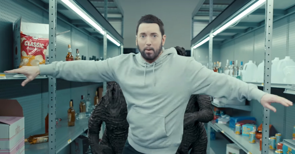 Mike Tyson knocks out Eminem for his new music video