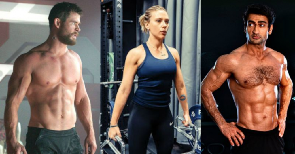 The actors from the MCU all went through some incredible physical transformations!