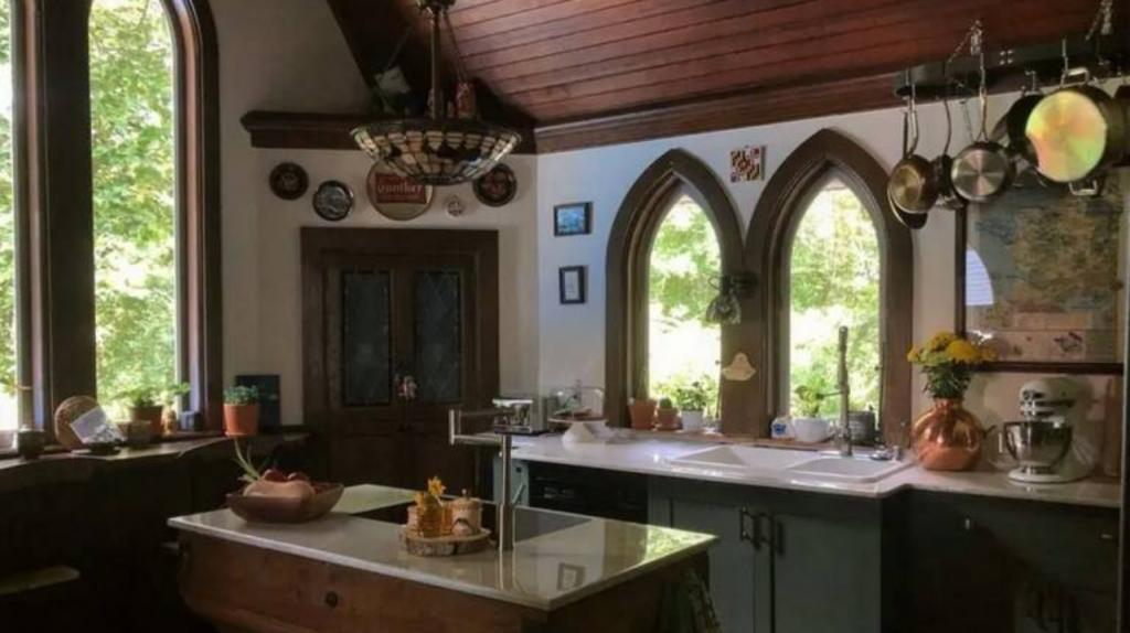 These old churches have been converted into luxury homes