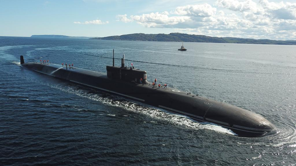 The 10 biggest nuclear submarines in the world