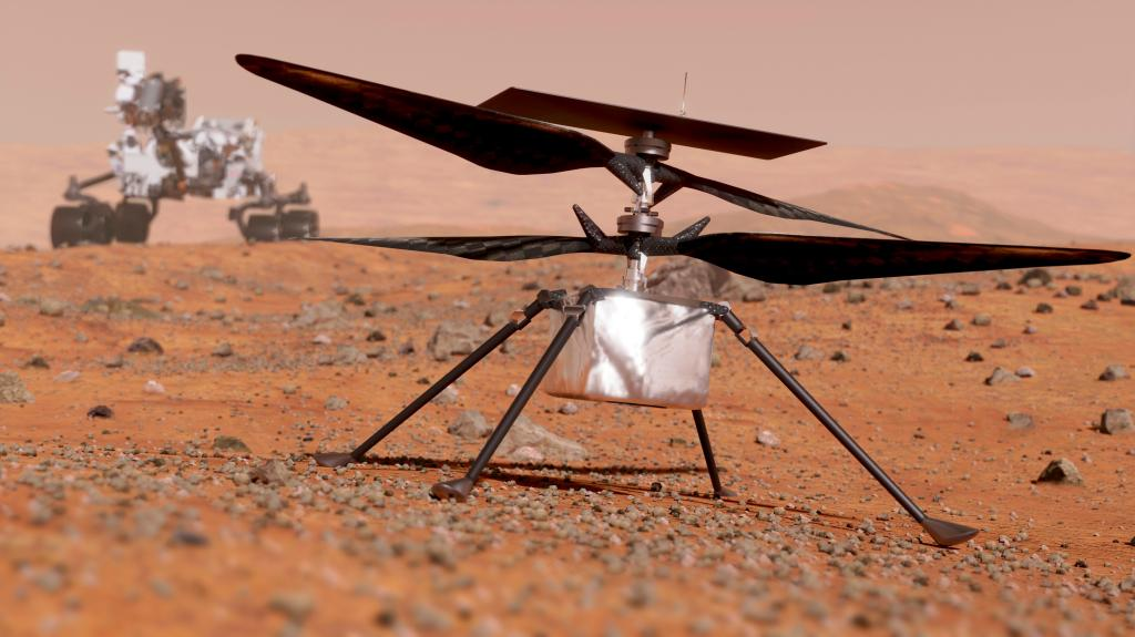NASA is ready to make a helicopter drone fly on Mars