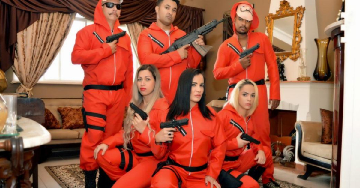 There's An Adult Film Parody Of Money Heist