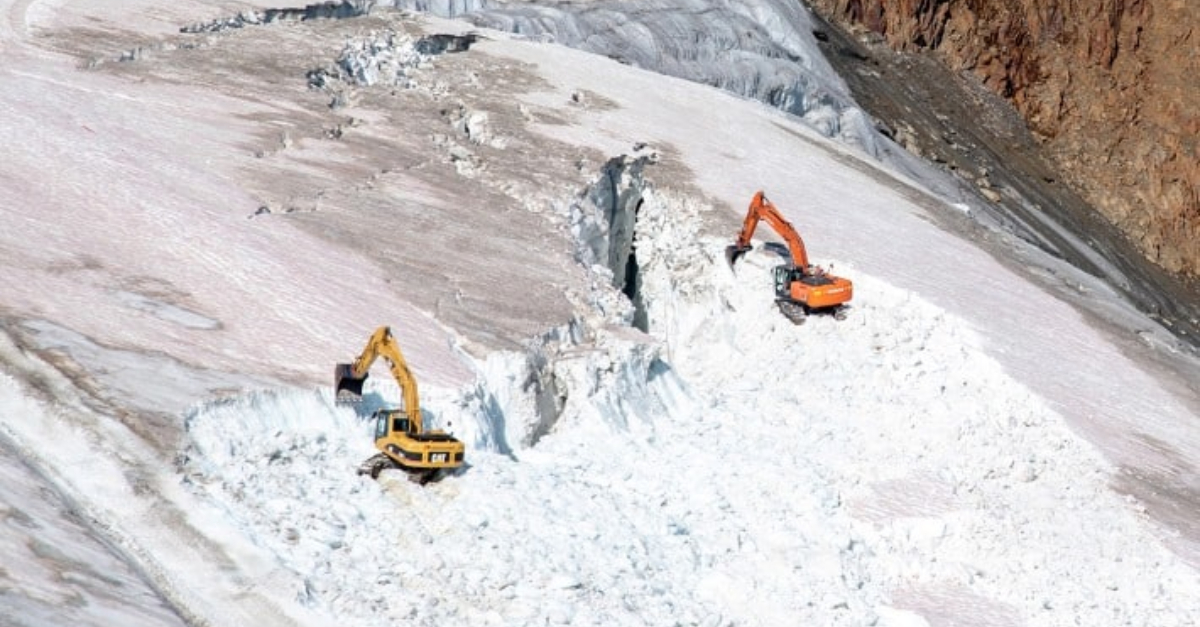 Austria Is Demolishing A Glacier To Build A Ski Resort