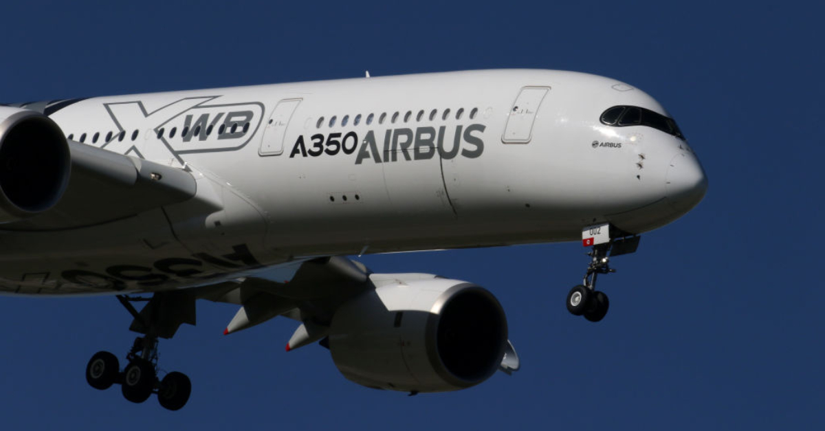 Airbus A350 Performs An Amazing Near Vertical Takeoff