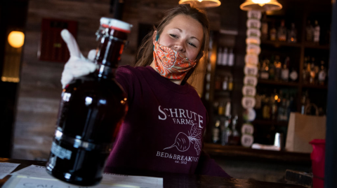 The Mixer Mask: The New Invention That Allows You to Drink a Pint and Stay Protected