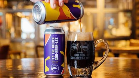 Cadbury teams up with Goose Island for a limited edition beer