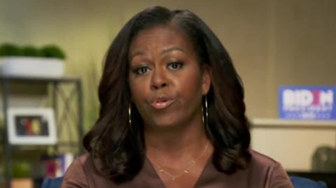 'In Over His Head': Michelle Addresses Trump in Rare Public Attack