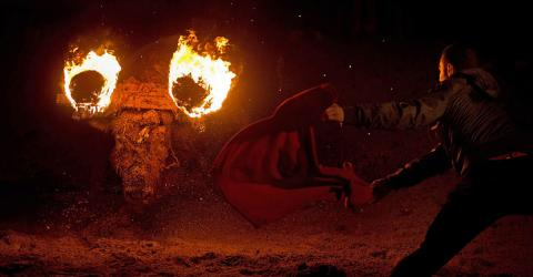 This Year In Spain, Live Bulls Are Set Alight
