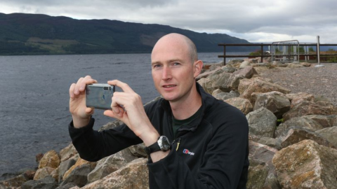 Firefighter Left Baffled After Believing He Caught the Loch Ness Monster on Camera