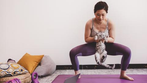 Woman Strips Naked in Gym After Being Denied Entry With Her Cat