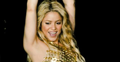 Shakira's Wardrobe Malfunction Reveals A Little Too Much, Her Hips Really Don't Lie
