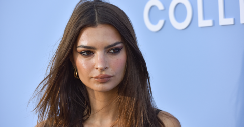 Emily Ratajkowski Looked Extra Hot At The Beach In A Quite Revealing And Tight One-Piece