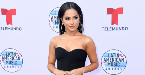 Becky G Drove Her Fans Wild In This Ravishing Two-Piece Outfit