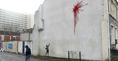 Bansky Has Struck Again, This Time In Bristol