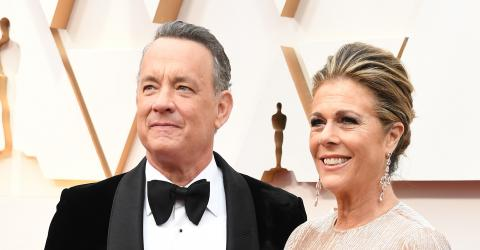 Tom Hanks reunites with an old friend after testing positive for Coronavirus