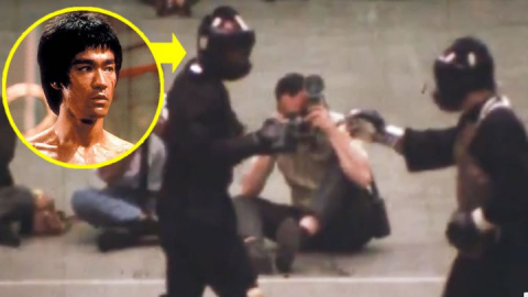This rare footage shows Bruce Lee in a real fight