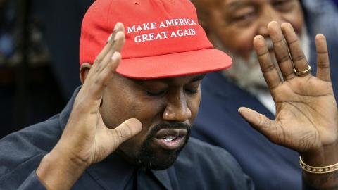 Kanye West just dropped his 2020 presidential campaign merch