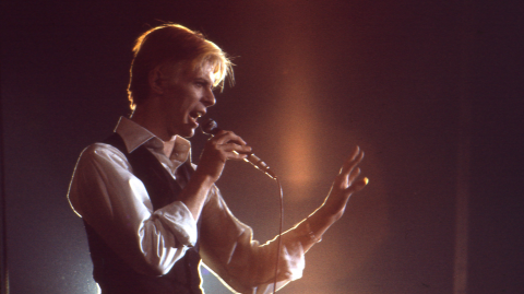 The Royal Mint has launched a commemoratory David Bowie collection... Into space