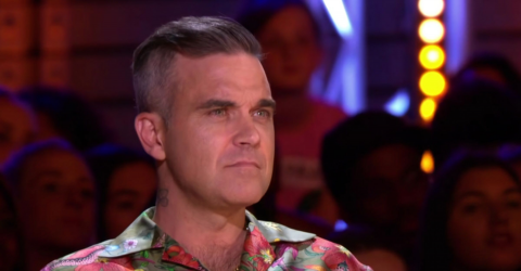 Robbie Williams does not look like this anymore