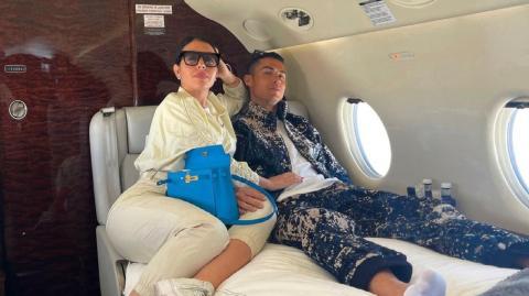 Inside Cristiano Ronaldo's £21 million private jet