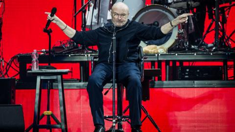 Phil Collins goes out with a bang for farewell performance