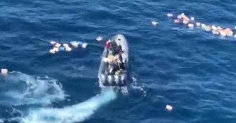 Drug Smugglers Save Police Officers Who Were Pursuing Them From Drowning (VIDEO)