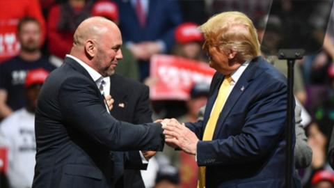 Once Again, UFC President Dana White Is Coming Out in Support of Donald Trump