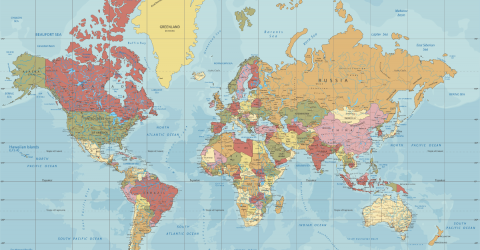 The World Map You've Been Used To Seeing Is Actually Completely Wrong