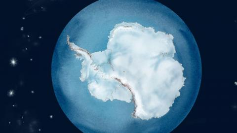 Antarctica: 40 Years Of Iceberg Fluxes Compressed Into Less Than A Minute