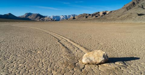 The Mystery of Death Valley's Moving Stones Has Been Solved
