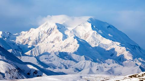 Over 60 tons of human excrement is about to melt on this mountain