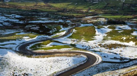 Snow could completely disappear in the UK by the end of the century