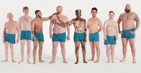 This Ad Campaign Celebrates The Diversity Of Men's Bodies And We're Loving It!