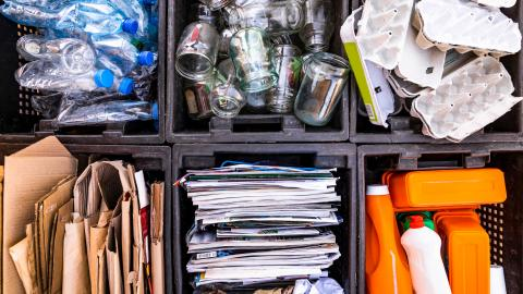 One in four Brits admit they fail to recycle regularly
