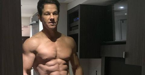 Mark Wahlberg And His Mates Hit The Gym At 4am