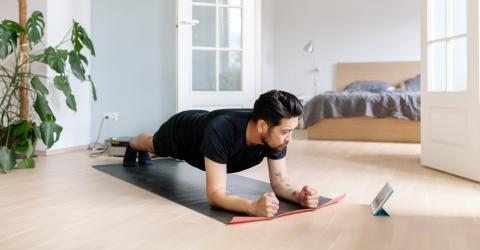 Under quarantine? Here are 5 tips to make your own home gym!