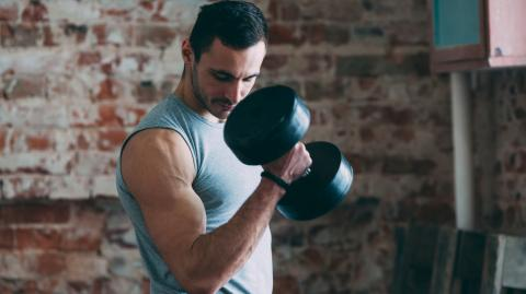 Using dumbbells to target your biceps? You might be making this mistake