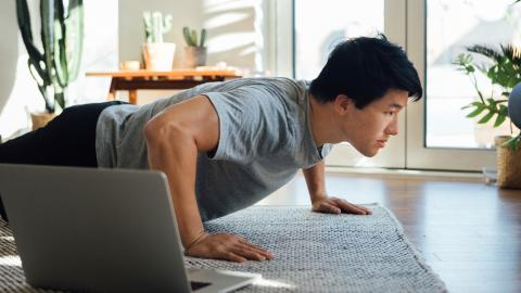 Working from home? These tips will motivate you to stay active