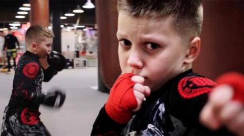 This 10-year-old boxer will be the next world champion
