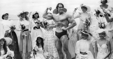 Arnold Schwarzenegger reveals his best bodybuilding tips