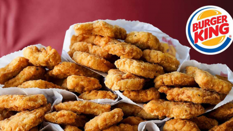 Burger King is giving away free chicken nugget 'care packages' for drive-thru customers