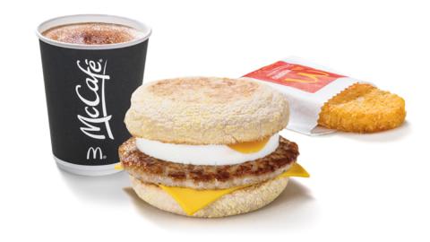 Just Eat is offering 25% off McDonald's breakfasts this weekend