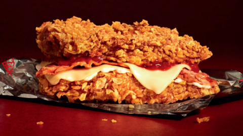 KFC is bringing back the legendary double down… But only for a limited time