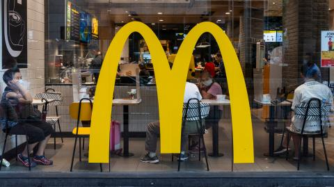 McDonald's is offering new customers 50% off this week!