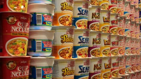 Health professionals warn instant noodles could be a health hazard