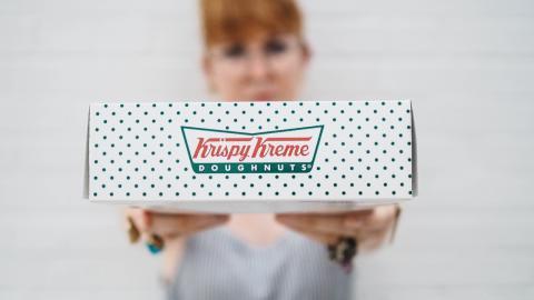 Krispy Kreme is giving away celebratory donuts this week to mark end of the lockdown