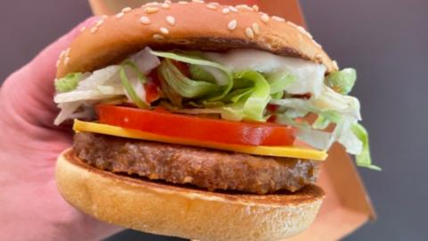 Mcdonald's to rollout McPlant vegan burger starting this month in the UK