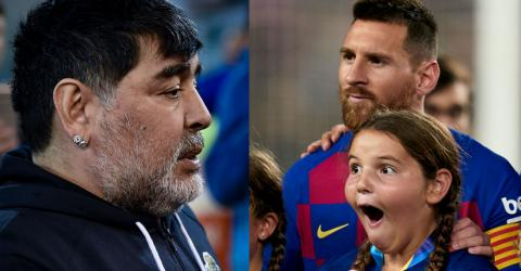 Diego Maradona Reveals How Lionel Messi Got So Good At Free-Kicks