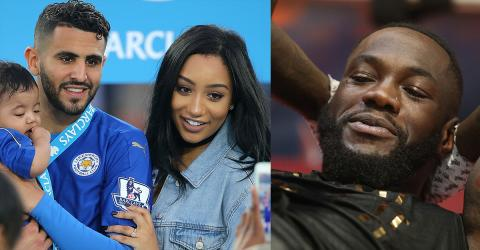 Riyad Mahrez Is Furious After Deontay Wilder Was Flirting With His Wife