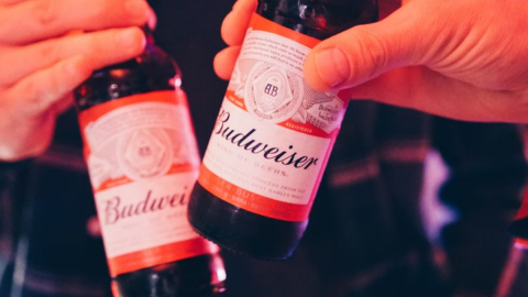 Budweiser is Teaming Up With Uber Eats for the Premier League!